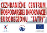 Cezhrani�n� centrum Hospod�rskej inform�cie Euroregi�n